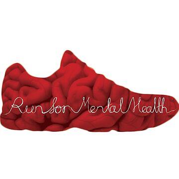 Run for Mental Health Logo by JKSmart