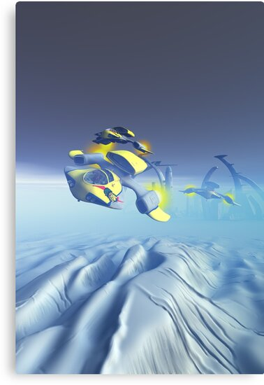 Bulldog Squadron Flyover by mdkgraphics