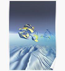 Bulldog Squadron Flyover Poster
