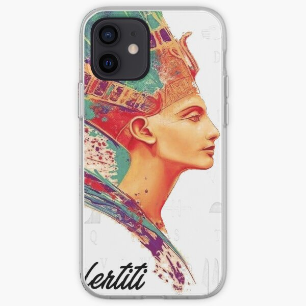 Nefertiti Egyptian queen and the Great Royal Wife iPhone Soft Case