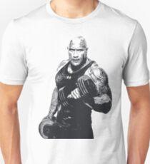 Dwayne Johnson Bodybuilding Gym Workout Clothing Unisex T-Shirt