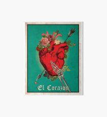El Corazon Galeriedruck