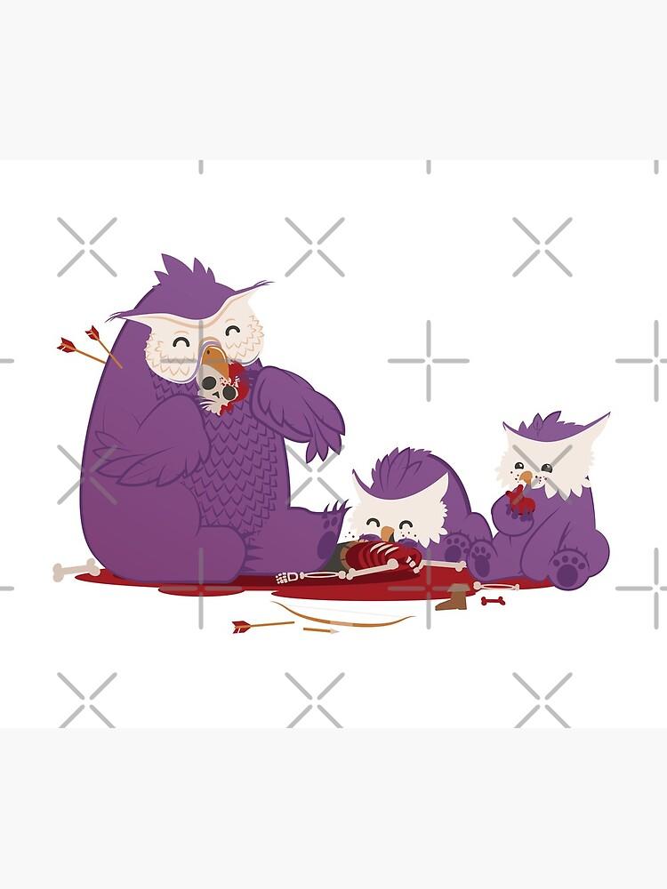 Owlbear Picnic by DanSimon