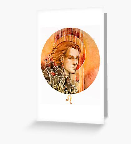 - Leo - Greeting Card