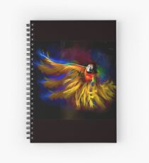The Mad Macaw Spiral Notebook