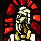 Stained Glass Figure, Holy Cross, Binstead by wiggyofipswich