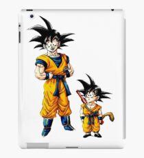 Goku Growing up iPad Case/Skin