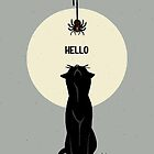 Spider and cat by BATKEI