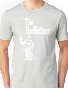 The Rodfather Fishing T Shirt Unisex T-Shirt