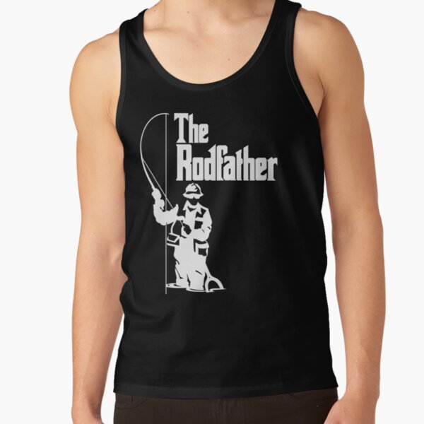 The Rodfather Fishing T Shirt Tank Top