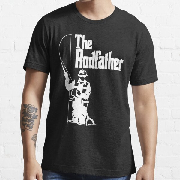 The Rodfather Fishing T Shirt Essential T-Shirt