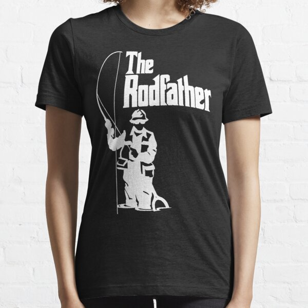 Le T-shirt de pêche de Rodfather T-shirt essentiel