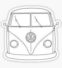 Big Split Window Kombi Sticker