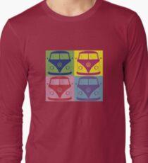 Kombi Retro Shirt Large design Long Sleeve T-Shirt