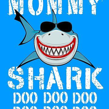 Mommy Shark Doo Doo matching Family Shark by Teeshirtrepub