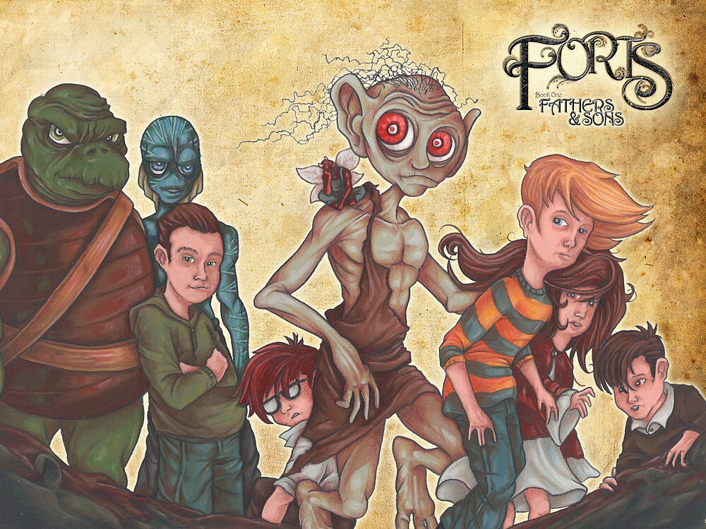 Forts Characters Revise by Steven Novak