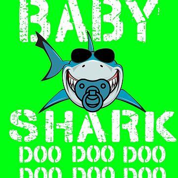 Baby Shark Doo Doo matching Family Shark by Teeshirtrepub