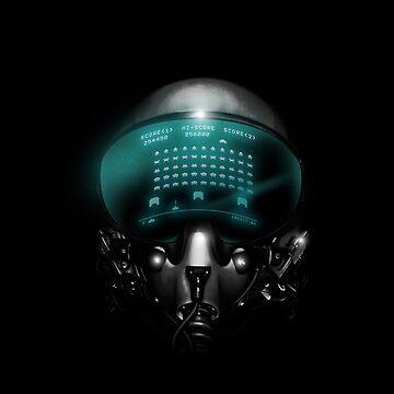 Space Invasion by Stevenmono