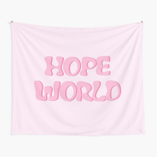 Pastel HOPE WORLD Mixtape Tapestry