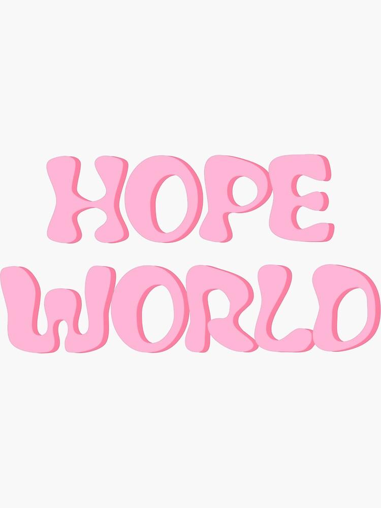Pastel HOPE WORLD Mixtape de PastelBTSShop