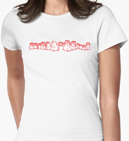 Groucho Gerbils in Pink T-Shirt