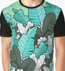 Green jungle leaves Graphic T-Shirt