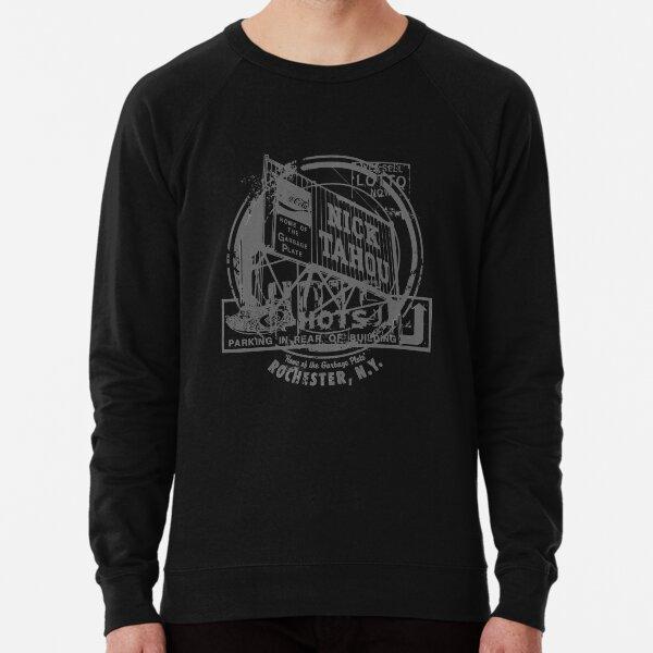 Rochester Hots Garbage Plate (Grey Print) Lightweight Sweatshirt