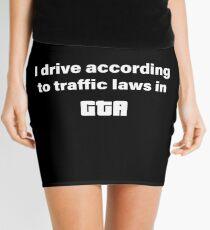 GTA Traffic Laws Mini Skirt