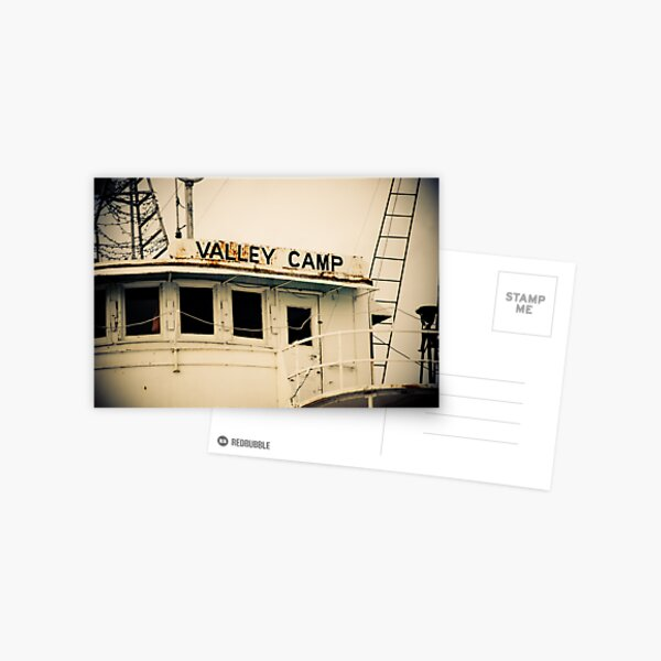 Valley Camp - Retired Freighter Postcard
