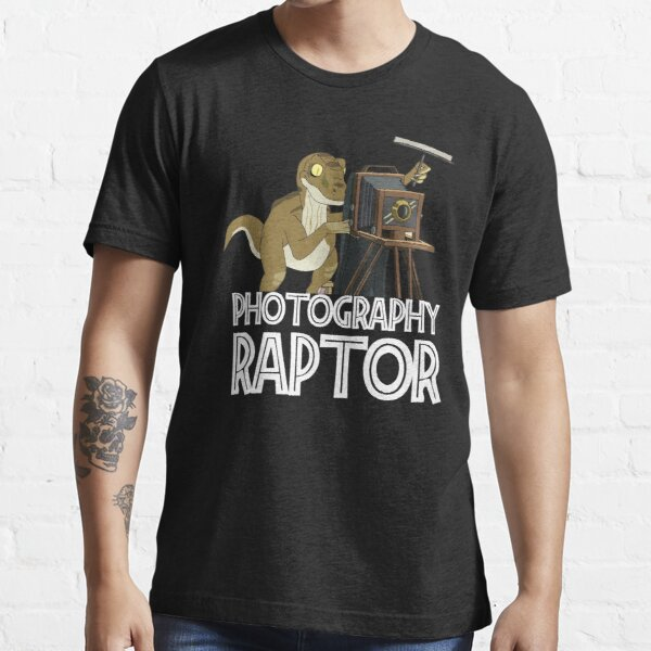 Photography Raptor Rick and Morty Essential T-Shirt