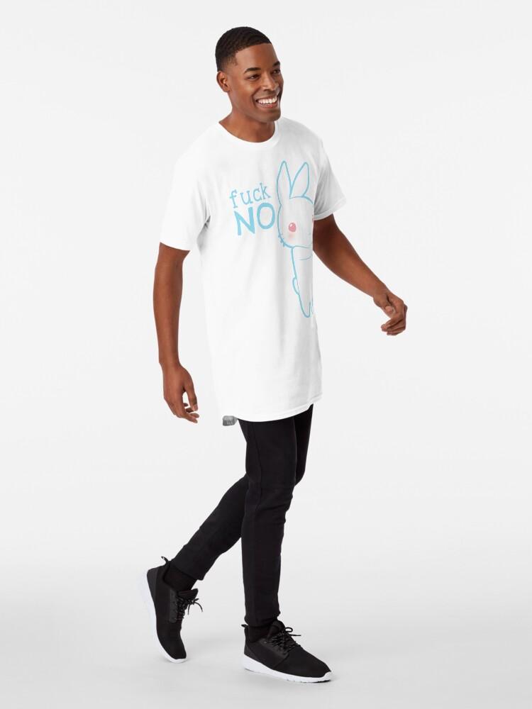 Alternative Ansicht von Fuck Nein - A Longshirt