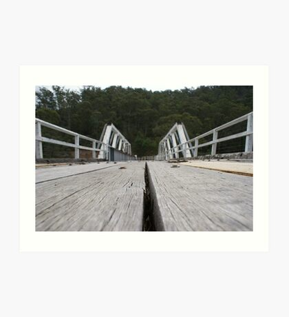 Trestle Bridge Art Print