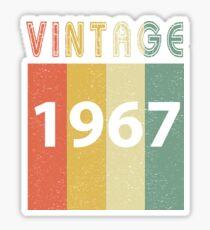 Vintage 1967 Sticker