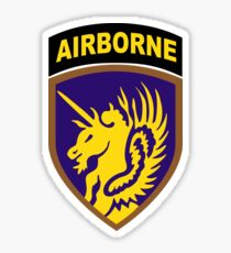 13th Airborne Division Patch Sticker