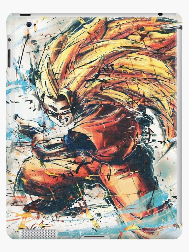 Goku Super Saiyan 3 Ipad Case Skin By Boostee
