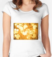 A texture of vintage love Women's Fitted Scoop T-Shirt