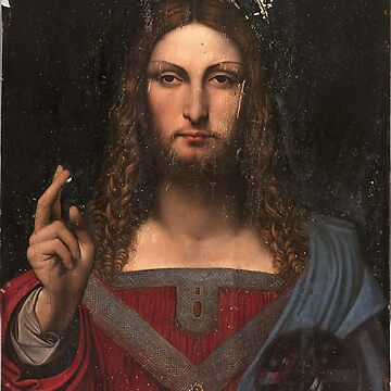 Jesus Christ - Leonardo Da Vinci by Geekimpact
