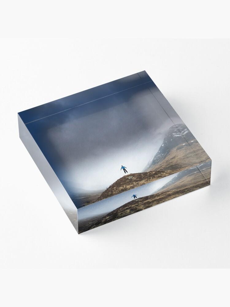 Bloc acrylique ''L'envol ': autre vue