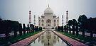 taj mahal, agra, india by gary roberts