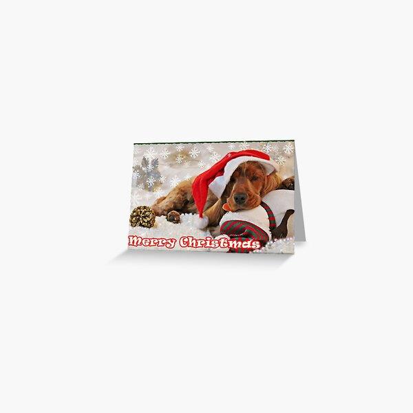KIM - Christmas cards (I) Greeting Card