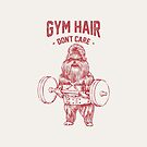 Gym hair don't care shih tzu by Huebucket