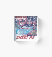Sydney-Australia Sweet As Acrylic Block