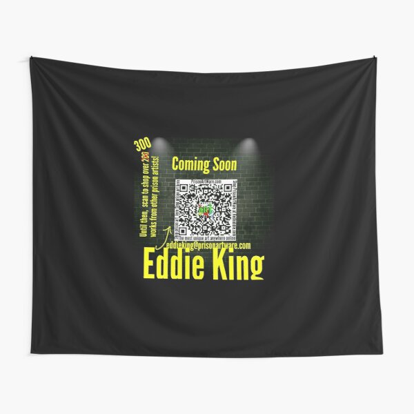 PrisonArtWare.com proudly presents the work of Eddie King  Tapestry