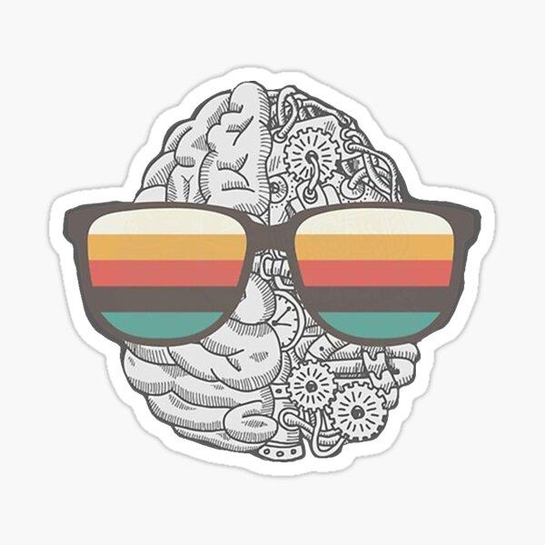AI artwork Sticker