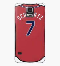 Garrison Schwartz Jersey Case/Skin for Samsung Galaxy