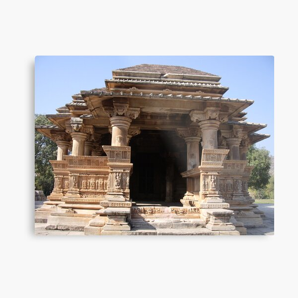 Ancient Temple Metal Print