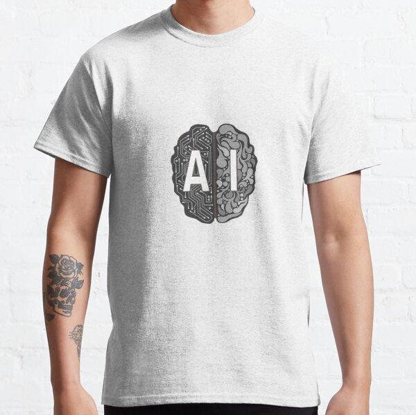 AI Brain Logo Classic T-Shirt