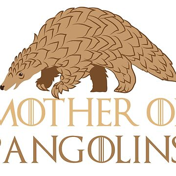 Mother of Pangolins  by jazzydevil