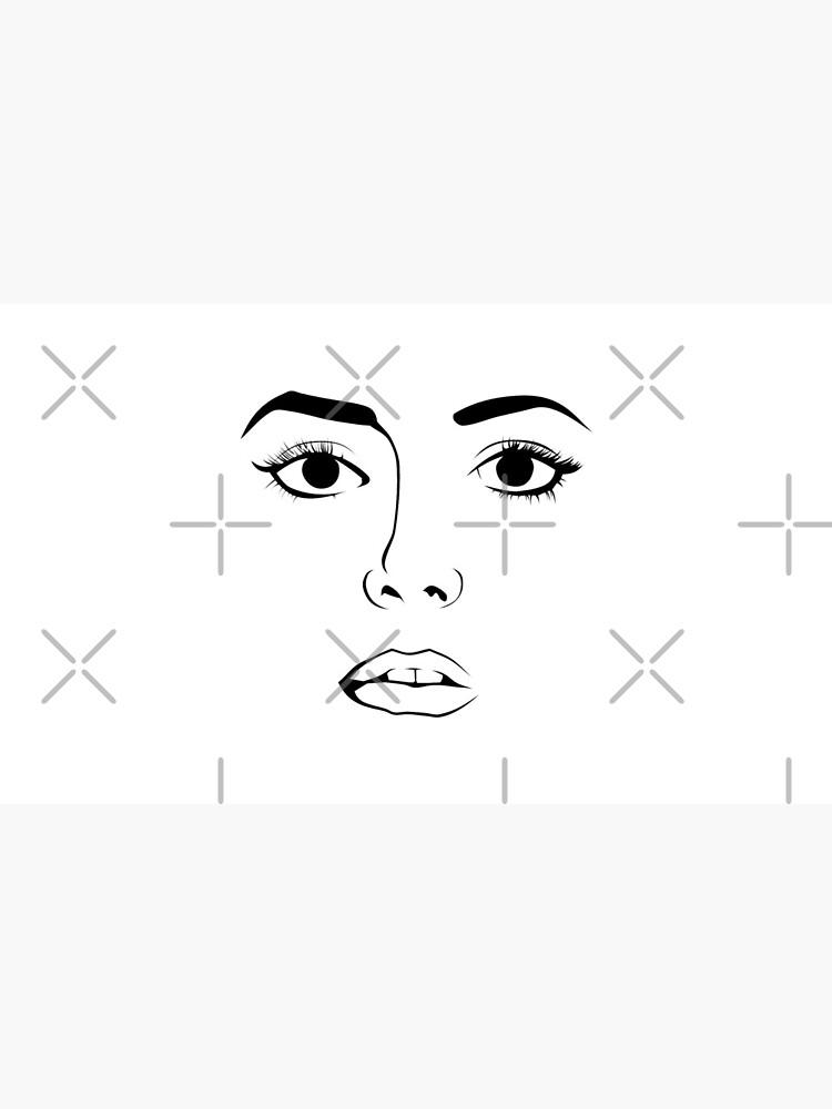 Gesicht einer Frau von pASob-dESIGN