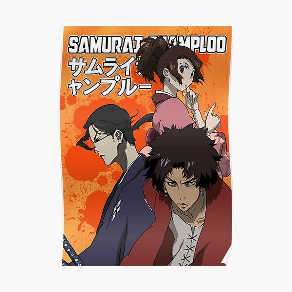 Samurai Champloo Crew Poster